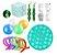 Kit com 18 peças Push Pop Bubble Sensory Fidget Toy Anti Stress - Alta qualidade  - Imagem 1