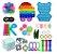 Kit com 30 peças Push Pop Bubble Sensory Fidget Toy Anti Stress II - Alta qualidade  - Imagem 1