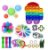 Kit com 23 peças Push Pop Bubble Sensory Fidget Toy Anti Stress III - Alta qualidade  - Imagem 1