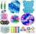 Kit com 24 peças Push Pop Bubble Sensory Fidget Toy Anti Stress III - Alta qualidade  - Imagem 1