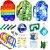 Kit com 31 peças Push Pop Bubble Sensory Fidget Toy Anti Stress I - Alta qualidade  - Imagem 1