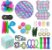 Kit com 30 peças Push Pop Bubble Sensory Fidget Toy Anti Stress VII - Alta qualidade  - Imagem 1