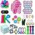 Kit com 30 peças Push Pop Bubble Sensory Fidget Toy Anti Stress VIII - Alta qualidade  - Imagem 1