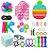 Kit com 30 peças Push Pop Bubble Sensory Fidget Toy Anti Stress X - Alta qualidade  - Imagem 1