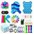 Kit com 30 peças Push Pop Bubble Sensory Fidget Toy Anti Stress XII - Alta qualidade  - Imagem 1