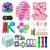 Kit com 30 peças Push Pop Bubble Sensory Fidget Toy Anti Stress XIII - Alta qualidade  - Imagem 1