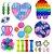 Kit com 22 peças Push Pop Bubble Sensory Fidget Toy Anti Stress X - Alta qualidade  - Imagem 1