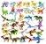 Kit com 32 Dinossauros  Pequenos Jurassic Park - Blocos de Montar  - Imagem 1
