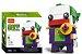 Brickheadz Coringa + 117 peças Dc Comics - Blocos de montar 9Cm x 3,5Cm x 4,5Cm - Imagem 1