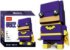 Brickheadz Bat Woman + 99 peças Dc Comics - Blocos de montar 9Cm x 3,5Cm x 4,5Cm - Imagem 1