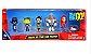 Pack 6 Figures Teen Titans GO! 12Cm - Animes Geek - Imagem 1