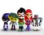 Pack 6 Figures Teen Titans GO! 12Cm - Animes Geek - Imagem 3