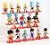 Pack 21 Figures Dragon Ball 7Cm - Animes Geek - Imagem 2