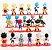 Pack 21 Figures Dragon Ball 7Cm - Animes Geek - Imagem 4