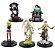 Pack 05 Action Figures Death Note - Animes Geek - Imagem 1