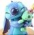 Figure Estátua Stitch e Xepa 11Cm - Lilo & Stitch - Imagem 5