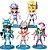 Kit com 05 Mini Estátuas Cavaleiros do Zodíacio 10Cm - Animes Geek - Imagem 1