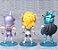 Kit com 05 Mini Estátuas Cavaleiros do Zodíacio 10Cm - Animes Geek - Imagem 4