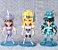 Kit com 05 Mini Estátuas Cavaleiros do Zodíacio 10Cm - Animes Geek - Imagem 3