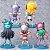 Kit com 05 Mini Estátuas Cavaleiros do Zodíacio 10Cm - Animes Geek - Imagem 2