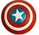 Escudo Cosplay Capitão América 30Cm - Marvel Comics - Imagem 1