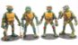 Kit com 04 Action Figures Tartarugas Ninjas - Anime Geek - Imagem 1