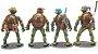 Kit com 04 Action Figures Tartarugas Ninjas - Anime Geek - Imagem 2