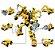 Blocos de Montar Transformation League Megabot 479 peças - Construction Vehicles - Imagem 1