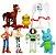 Pack com 07 Figures Toy Story Pixar - Cinema Geek - Imagem 1
