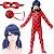 Cosplay Marinette Dupain-Cheng Fantasia Ladybug Miraculous - Infantil - Imagem 1