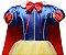 Fantasia Princesa Branca de Neve - Cosplay Infantil - Imagem 4