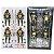 Tartarugas Ninjas Kit com 4 Action figures Anos 90 - Neca - Imagem 4