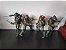 Tartarugas Ninjas Kit com 4 Action figures Anos 90 - Neca - Imagem 6