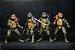 Tartarugas Ninjas Kit com 4 Action figures Anos 90 - Neca - Imagem 2