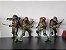 Tartarugas Ninjas Kit com 4 Action figures Anos 90 - Neca - Imagem 7