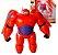 Boneco Baymax Action Figure Articulada Operação Big Hero Disney - Imagem 1