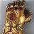 Manopla do Infinito Thanos Com LED Vingadores - Marvel - Imagem 6