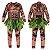 Fantasia Cosplay Adulto Havaiano Maui Moana - Imagem 1
