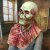 Máscara Cosplay Látex Esqueleto Zumbi - Fantasias - Imagem 3