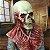 Máscara Cosplay Látex Esqueleto Zumbi - Fantasias - Imagem 2