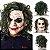 Máscara Látex Joker Coringa Halloween - Fantasias - Imagem 1