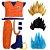 Cosplay Goku com Cabelo Fantasia Dragon Ball Completa - Infantil - Imagem 1