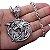 Colar Medalhão Geralt The Witcher Netflix Escola do Lobo aço Inox Genuíno MODELO 2 - Imagem 1