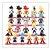 Lote com 21 Bonecos Dragon Ball 7 cm - Animes Geek - Imagem 1
