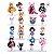 Sailor Moon Kit com 16 personagens - Animes Geek - Imagem 1