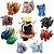 Pack 11 peças Naruto Uzumaki e as bestas de caudas - Naruto Clássico - Imagem 1