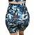Shorts Vivie Fitness Aquarela Azul - Imagem 4