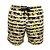 Shorts Bermuda Masculina de Praia Orquídea Amarelo - Imagem 1