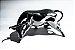 Objeto Decorativo Wall Street Bull Touro Prata - 17 cm - Imagem 2
