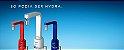 Torneira 4 Temperaturas Slim Parede Tpsl Vermelho - Hydra Corona - Imagem 2
